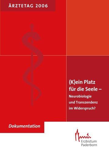 (K)ein Platz für die Seele - Neurobiologie und Transzendenz im ...