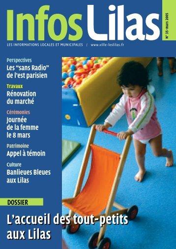 Infos Lilas mars 2005 - Les Lilas