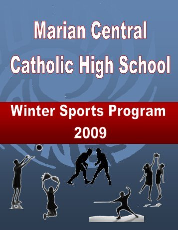Varsity Boys Basketball - Marian Central Catholic High School