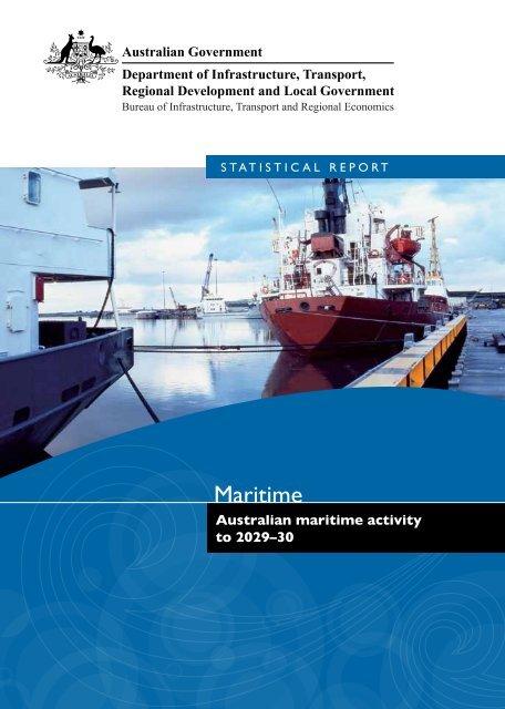 PDF: 1176 KB - Bureau of Infrastructure, Transport and Regional ...