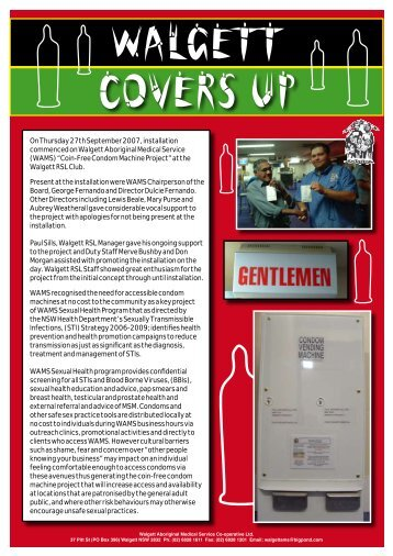 Walgett Covers Up - WAMS