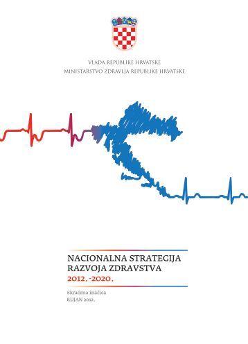 Nacionalna strategija razvoja zdravstva 2012. - Ministarstvo zdravlja