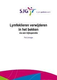 Lymfklieren verwijderen - SJG Weert