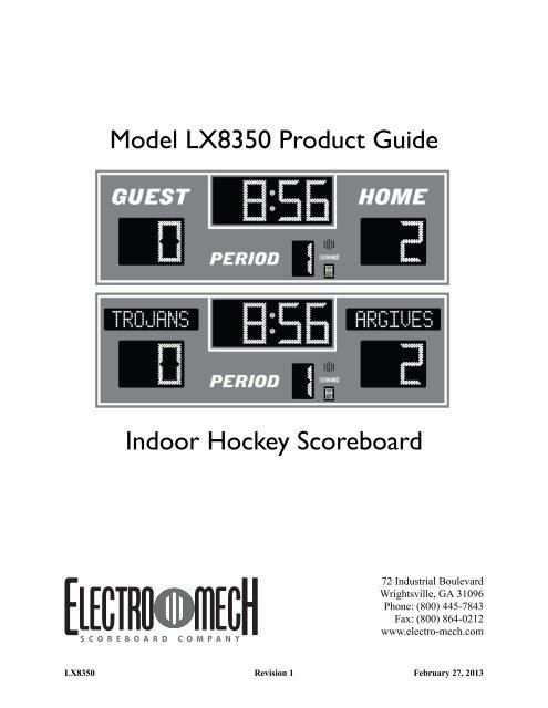 scoreboard wiring diagrams download pdf manual for lx8350 scoreboard scoreboards  download pdf manual for lx8350