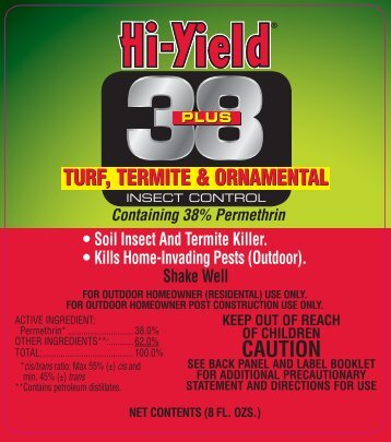 Label 31330 38 Plus Approved 4-9-13 - Fertilome