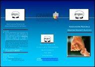 Pieghevole 2009 - Associazione Nazionale Genitori Soggetti Autistici