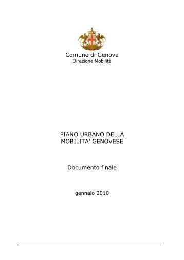 PUM - Urban Center - Comune di Genova