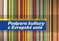 Podpora kultury z Evropské unie.pdf - Institut umění