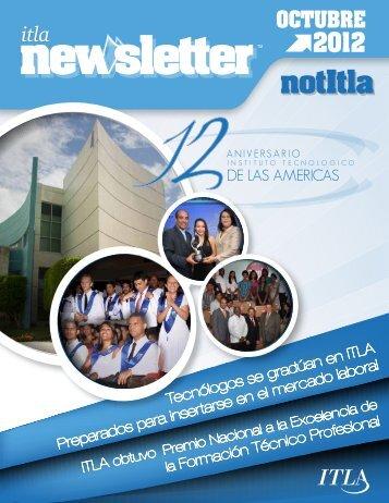 TLA Newsletter Octubre 2012 - ITLA