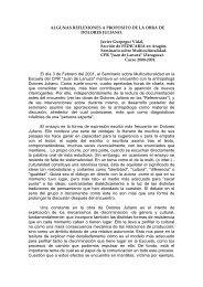 ALGUNAS REFLEXIONES A PROPOSITO DE LA OBRA ... - FedIcaria