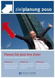 DOWNLOAD Zielplanung Ihres Unternehmens Rückblick 2009 und ...