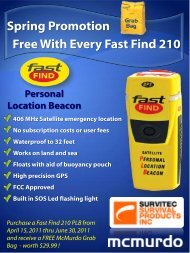 Spring Promotion Free With Every Fast Find 210 - Defender