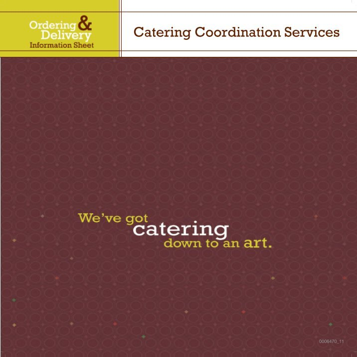 calveta dining services essay 1 calveta dining services, inc: a recipe for growth key issues: the company lacks a strategic plan when the patriarch of the family, antonio calveta, passed the company down to his son, frank, he left him with one objective: double the company's revenue within five years.