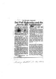 """Der-Fall Makowka und die """"Herrin ;des a - Thomas Wüppesahl"""