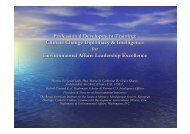 Climate Change Diplomacy & Intelligence for Environmental Affairs ...