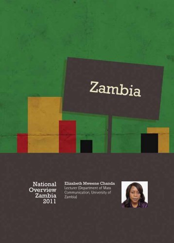 National Overview Zambia 2011 - Media Institute of Southern Africa