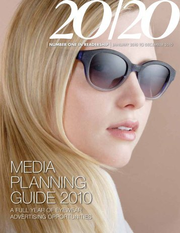 MEDIA PLANNING GUIDE 2010 - 20/20 Magazine