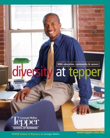 diversity at tepper - www.tepper.cmu.edu - Carnegie Mellon University