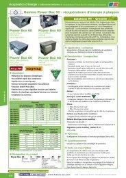 Power Box 60 Power Box 60 Power Box 60 Gamme ... - Annuaire
