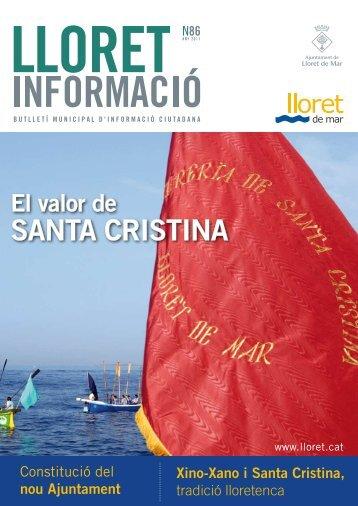 Núm. 86 - Ajuntament de Lloret de Mar