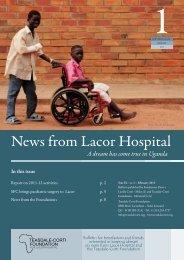 News from Lacor - 1 2013.pdf - Fondazione Corti