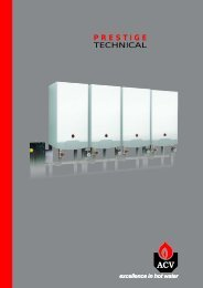 Prestige Technical Guide - ACV UK