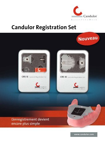 Candulor Registration Set