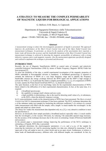 measurement of the alcohols' permeability of