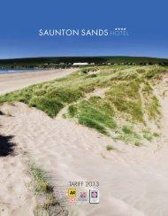 Download 2013 Brochure - Saunton Sands Hotel