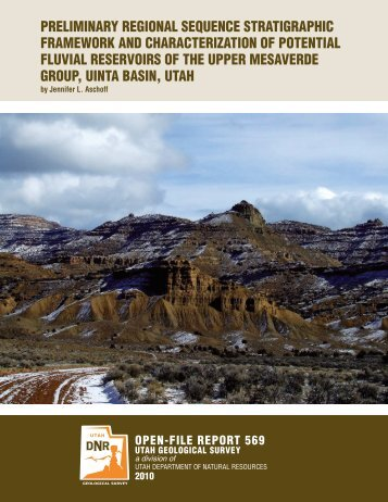 Preliminary Regional Sequence Stratigraphic Framework and ...