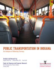 Public Transportation in Indiana: An Analysis of Ridership ... - Citilink