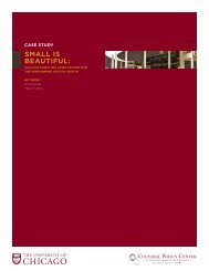 Download the case study - Cultural Policy Center - University of ...