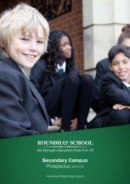 Prospectus - Roundhay School