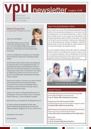 VPU-Newsletter 3. Quartal 2008