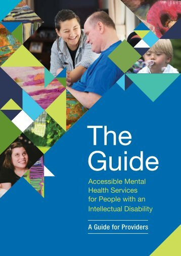 Accessible Mental Health Services for People with an ID - A Guide for Providers_current