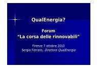 Relazione Sergio Ferraris - La Nuova Ecologia