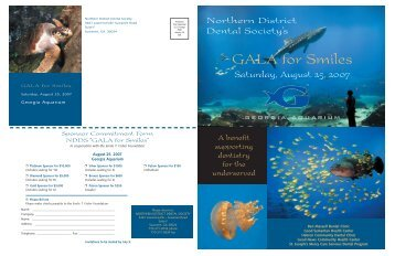 GALA for Smiles - Northern District Dental Society