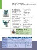 SITRANS F M MAGFLO Medidores Eletromagnéticos de ... - Digitrol - Page 6
