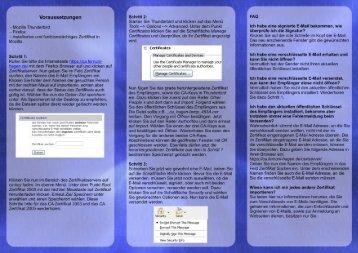 Voraussetzungen Schritt 2: FAQ - FernUniversität in Hagen