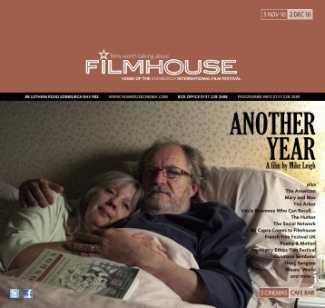 ANOTHER YEAR - Filmhouse Cinema Edinburgh