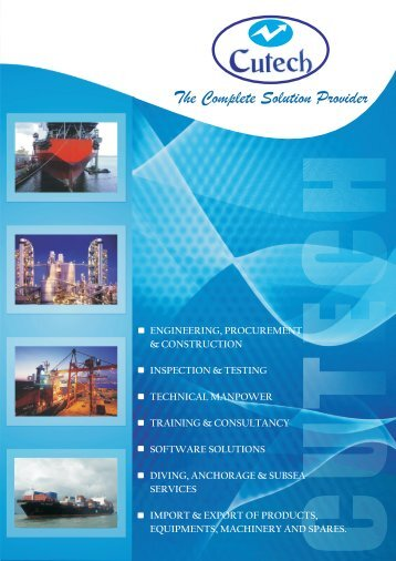 Corporate Brochure - Cutech Solutions & Services Pte Ltd