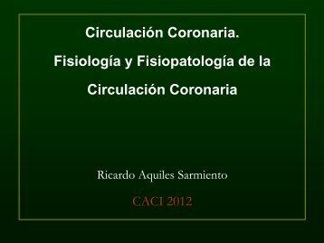 Fisiopatología de la Circulación Coronaria - Hemodinamia