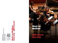 Download the SAMS Concert Brochure (pdf) - Madison Avenue ...
