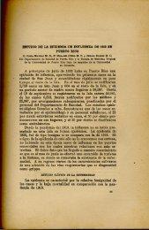 Estudio de la Epidemia de Influenza de 1932 en Puerto Rico