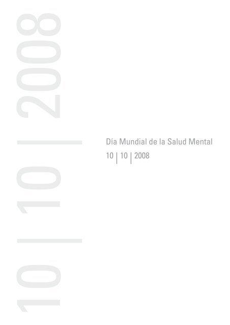 Día Mundial de la Salud Mental 10 - Fundación Andaluza para la ...
