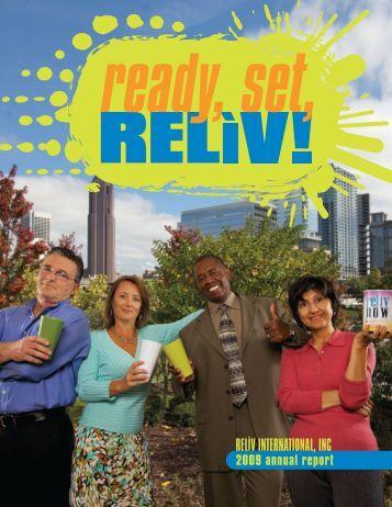 2009 Annual Report - Reliv