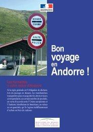 Bon voyage en Andorre - Andorramania