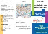 Programm BgD Höffler.indd - Bochumer Bündnis gegen Depression ...