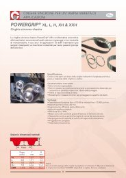 Pj965 Poly-V Cinghia Cinghia Trapezoidale Cinghia Piatta Pj 965 380j
