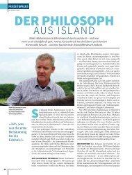 Der Philosoph aus Island